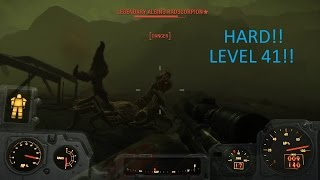 FALLOUT 4 PC - Level 41 Hard!! - No Spoilers!!