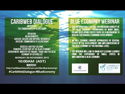 CaribWebDialogue - The Blue Economy