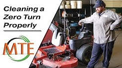 Properly Cleaning your Zero-Turn Mower