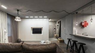 Однокомнатная квартира в индустриальном стиле(Эта квартира площадью 75 кв. метров находится в Москве (Россия). За дизайн-проектом двадцатилетняя владелица..., 2015-04-21T07:01:22.000Z)