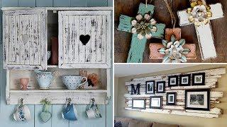 ❤30 Amazing DIY Rustic wood  home decor ideas 2017❤