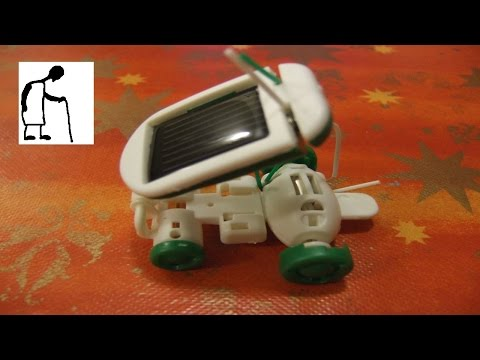 Let's assemble a Solar Robot Kit 6 in 1 toy kit