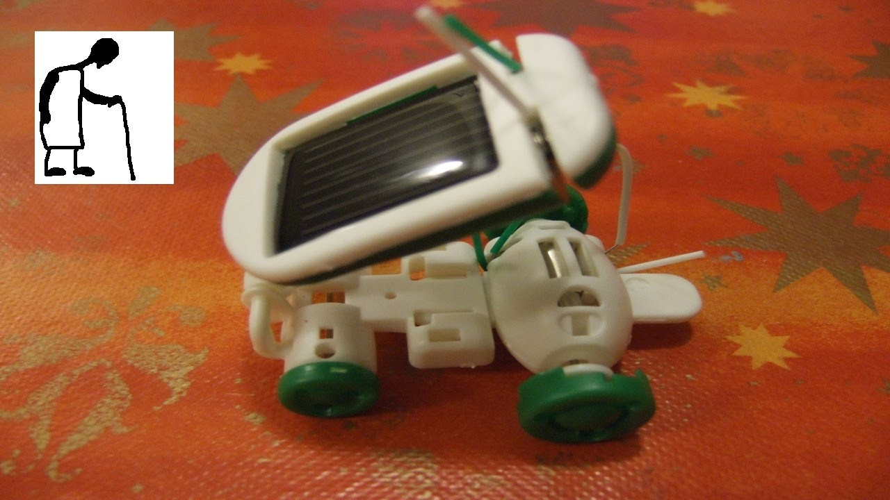 Lets assemble a solar robot kit 6 in 1 toy kit youtube lets assemble a solar robot kit 6 in 1 toy kit solutioingenieria Gallery