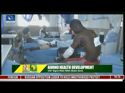 Borno Health Development: VSF Signs MoU With State Govt.