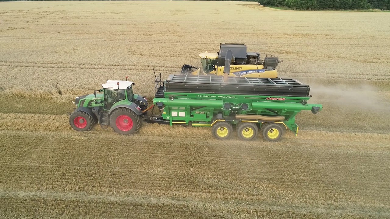 Chaser Bin Demo - Cross Agricultural Engineering