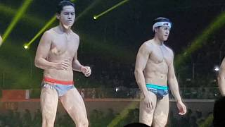 Enrique Gil, Kim Chiu, Diego Loyzaga, Ken Chan,Ashley Ortega & Rocco Nacino at #BenchUnderTheStars