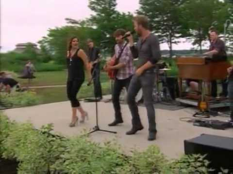 Lady Antebellum - Our Kind Of Love (Live on Regis & Kelly)
