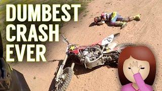The DUMBEST Crash I've Ever Had