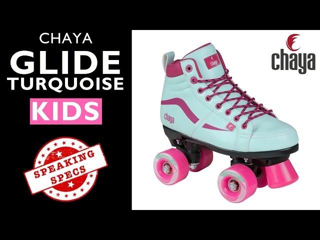 Chaya Glide Turquoise KIDS Roller Skate - CHAYA SPEAKING SPECS