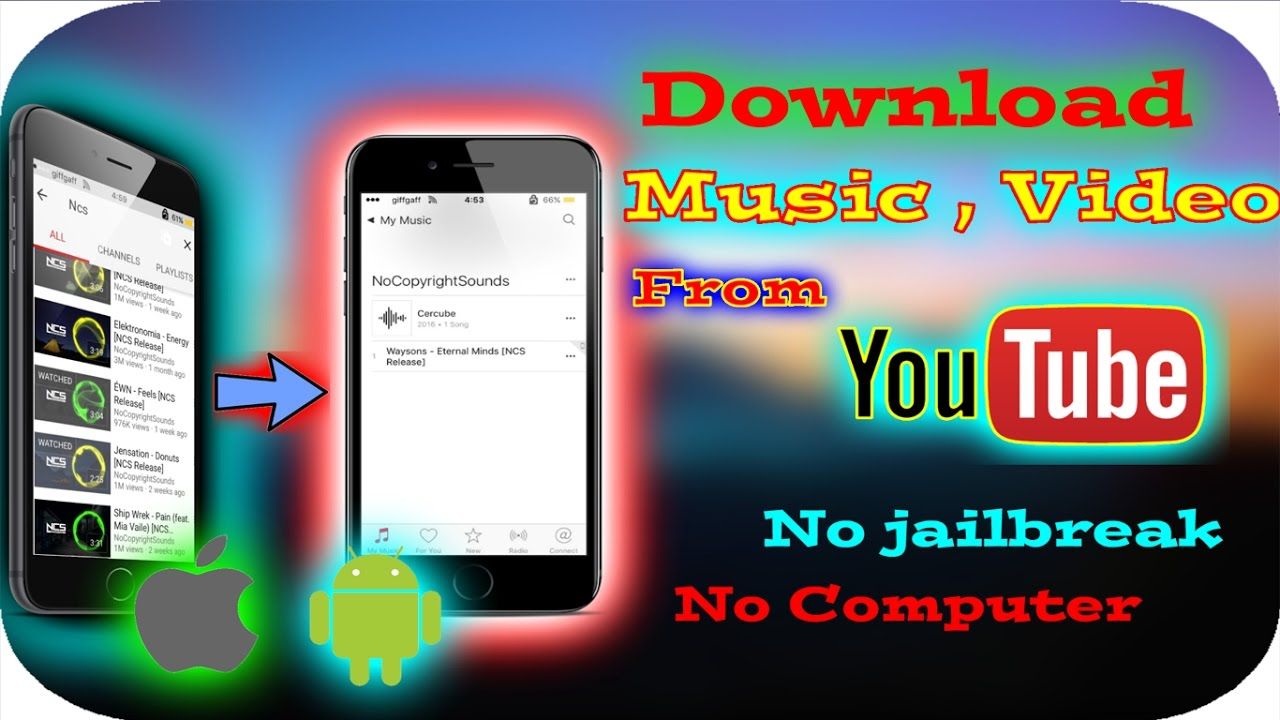 how to download music on iphone without computer or jailbreak