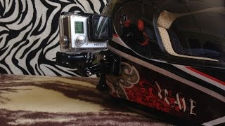 GoPro Side Mount - Helmet Attachment
