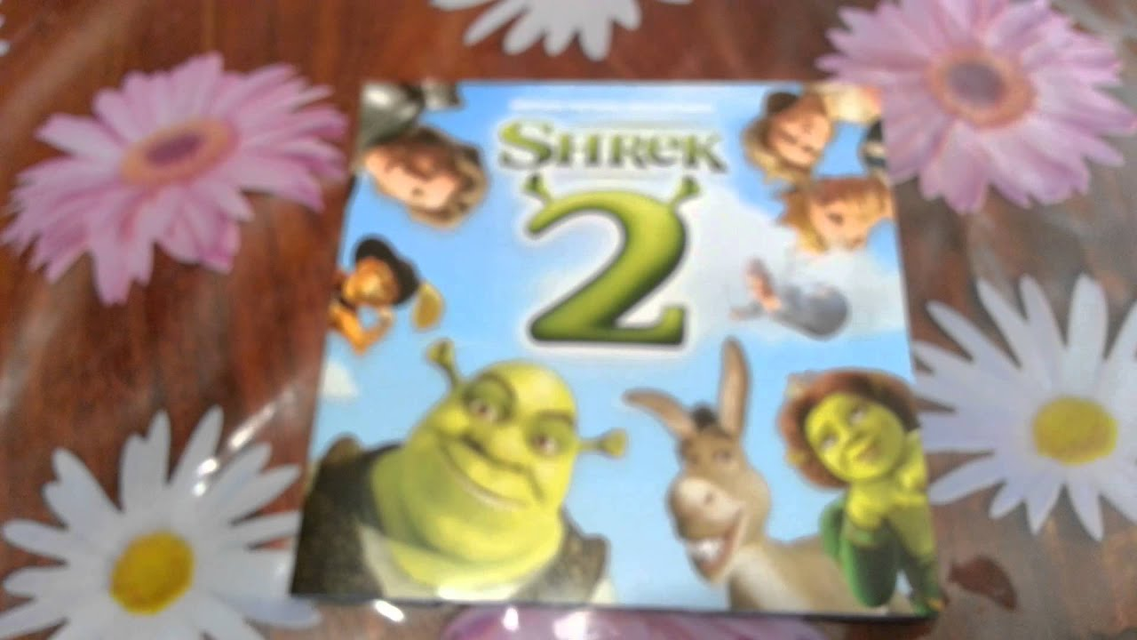 Unboxing Shrek And Shrek 2 The Collector S Edition Cd Soundtracks Youtube
