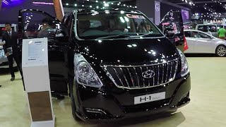 Video review New VAN Hyundai H 1, 2016, Deluxe, Interior and exterior