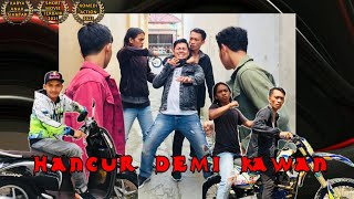 "3 PS ""Pemuda Setempat""|Hancur Demi Kawan|short movie|Comedy Action|Anak Siantar[INDONESIA]."