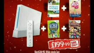 Gamestation Christmas Advert - Nintendo Wii Bundle