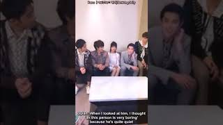 [ENGSUB]  Dylan Wang 1st impression of the other F4 boys & Shen Yue