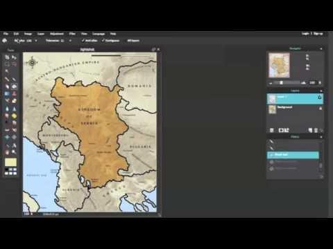 [Blank Map] Kingdom of Serbia (1914)