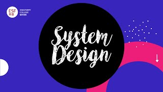 Year 9 &10 Design   SYSTEM