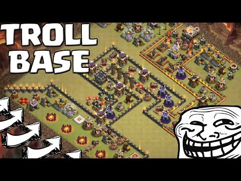 UNGLAUBLICHE TROLL BASE! || CLASH OF CLANS || Let's Play CoC [Deutsch ...