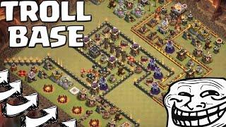 UNGLAUBLICHE TROLL BASE! || CLASH OF CLANS || Let's Play CoC [Deutsch/German HD+]