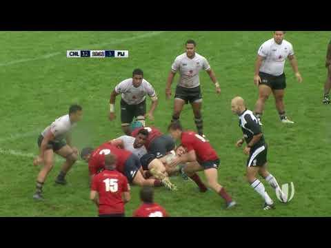 Chile U20 – Fiji U20 | World Rugby U20 Trophy 2017