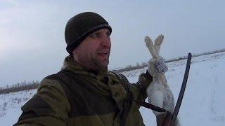 """Успешная охота на зайцев в одиночку ▶ ДОГОНЯЙ! Канал """"Охот ТВ"""""""