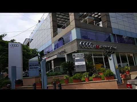 Audi showroom in Bangalore