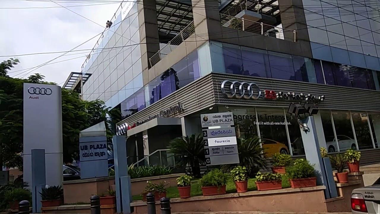 Audi Showroom In Bangalore YouTube - Plaza audi