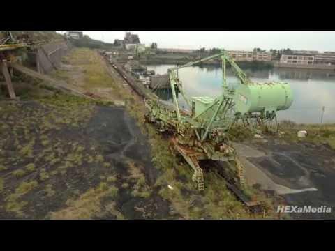 """【ドローン空撮】""""池島 -The Silent Island-"""" 4K撮影"""