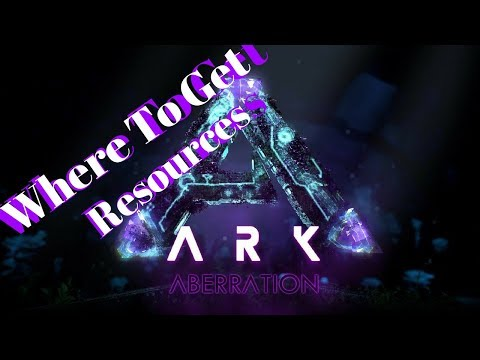 Ark Aberration: Resource Locations Oil Metal Pearls Poly