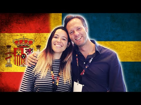 "SWEDISH VS SPANISH - Language Challenge with ""gominuke"""