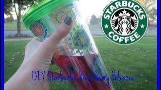 DIY Starbucks Very Berry Hibiscus Thumbnail