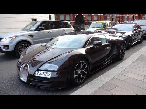 bugatti veyron 16 4 grand sport vitesse in london youtube. Black Bedroom Furniture Sets. Home Design Ideas