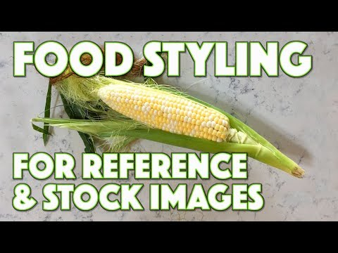 Food Styling for Reference & Stock Images