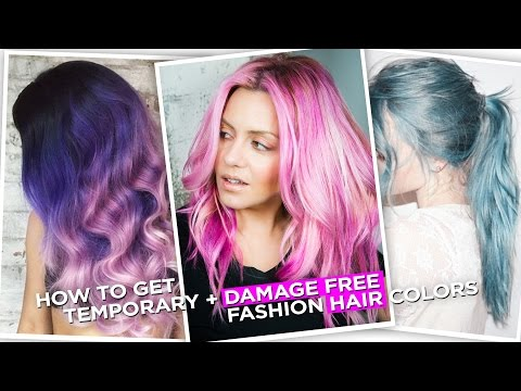 how-to-get-temporary,-damage-free,-fashion-hair-colors-!