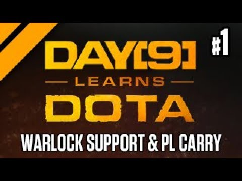 Day[9] Learns Dota: Solo Q - Warlock Support & PL Carry