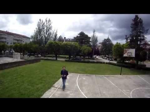 Quadcopter 3DR IRIS GoPro Hero HD - University Santiago de Compostela