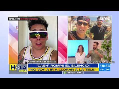 ¿Elocuente? Dash se defiende tras las críticas en su contra por la muerte de Sebastián Leiva