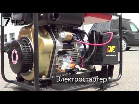 Дизельная электростанция KJ Power KDE6500E (5 кВт)