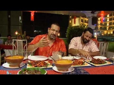 Rocky, Mayur go munching in Mangalore
