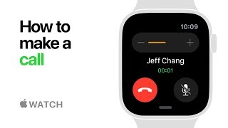 Apple Watch Series 4 - How to Make a Call - Apple