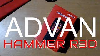 review dan hand on hp murah meriah advan hammer r3d bahasa indonesia