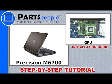 Dell Precision M6700 (P22F001) GPU Removal & Installation