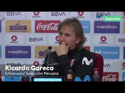 Ricardo Gareca: la no convocatoria de Paolo Guerrero y sí Kevin Quevedo   CONFERENCIA