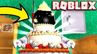 I TURNED MYSELF INTO A CAKE!? - ROBLOX BAKE A CAKE