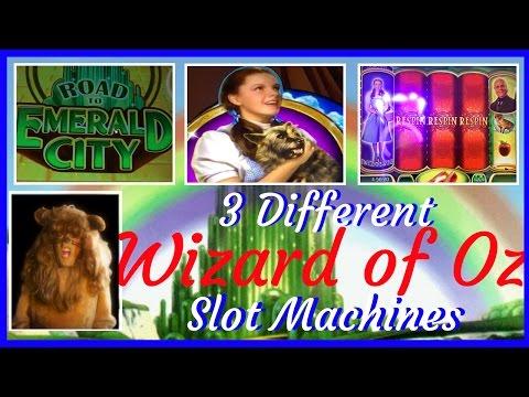 3 Different WIZARD OF OZ Slot Machines✦MOVIE MONDAYS✦ Live Play Slots / Pokies