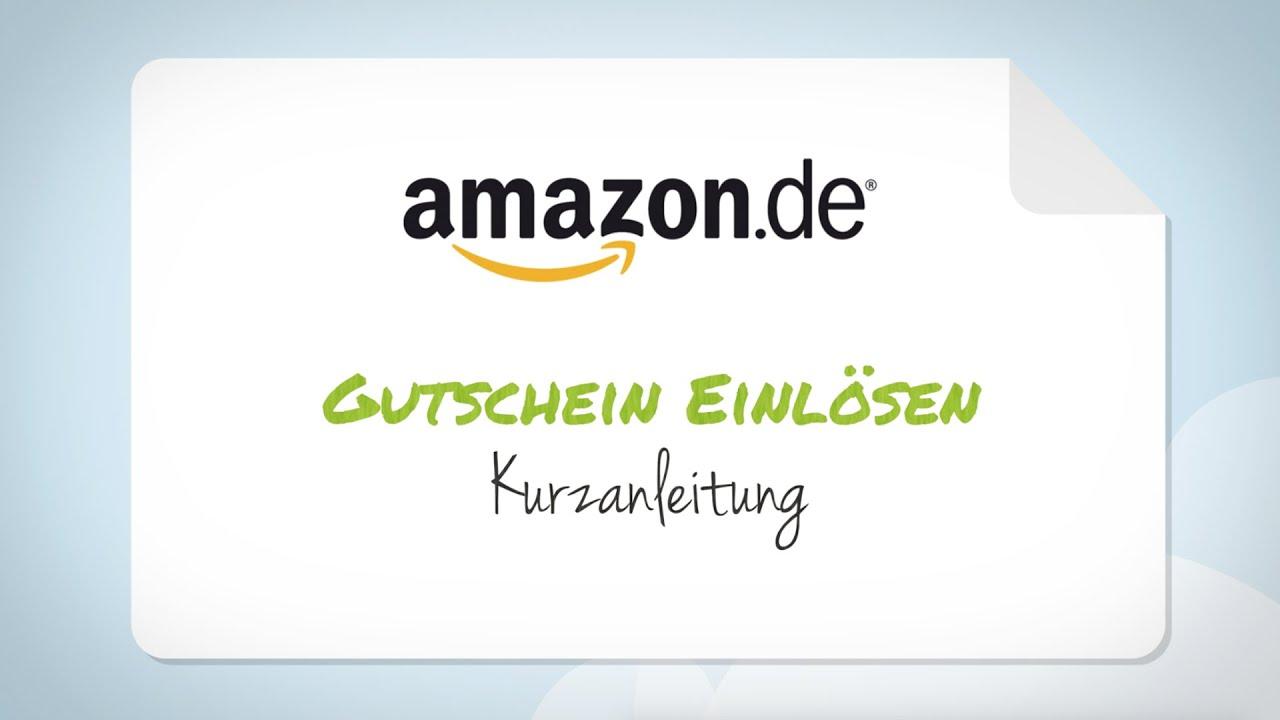 Amazon Gutschein Einlösen Schritt Für Schritt Anleitung Youtube