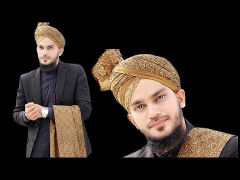 How to tie imama for wedding | nawabi style turban | #Mohsinrazaqadri