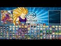 DragonBall Z Heroes Version 3  MUGEN Game pc free DOWNLOAD 2014 New