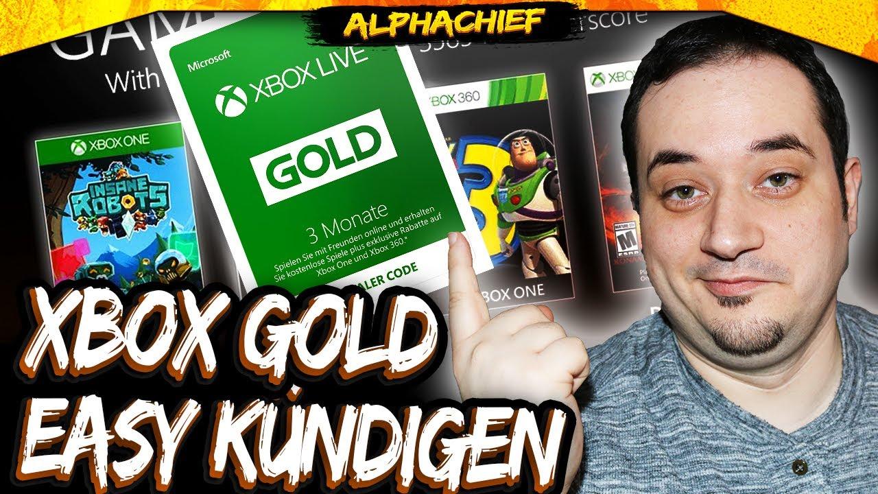 Xbox Gold Kündigen
